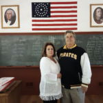 Franklin Regional School Board member:  Ed Mittereder and wife Valeria.